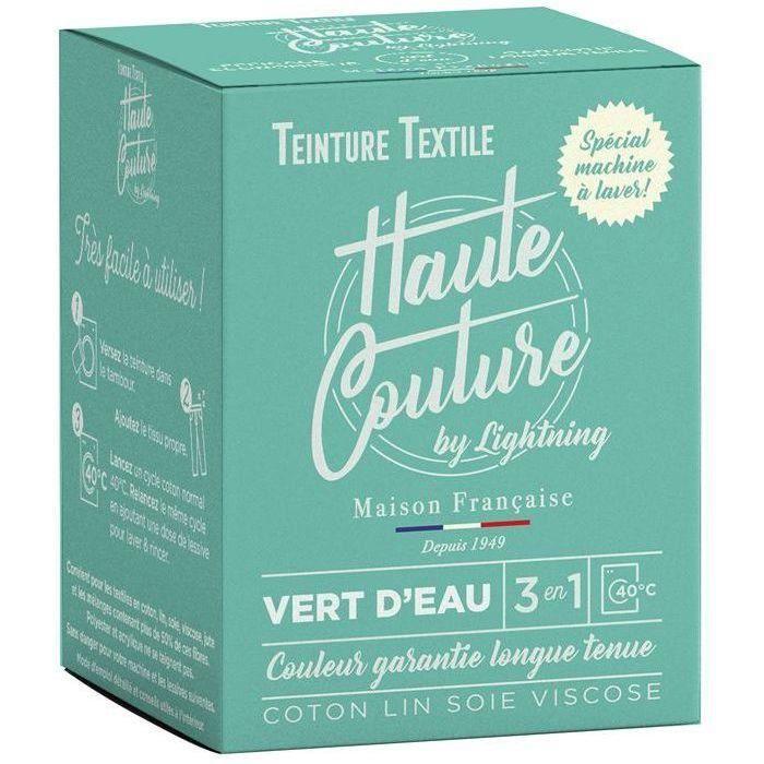 Teinture textile haute couture vert d'eau 350g