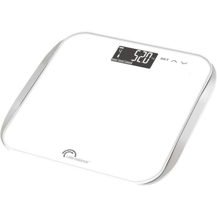 LITTLE BALANCE Pese personne Imc Wave - 180 kg / 100 g - LCD