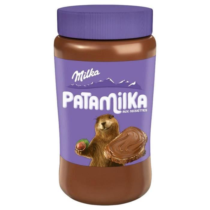 Milka Patamilka Pâte à Tartiner 600g (lot de 4)