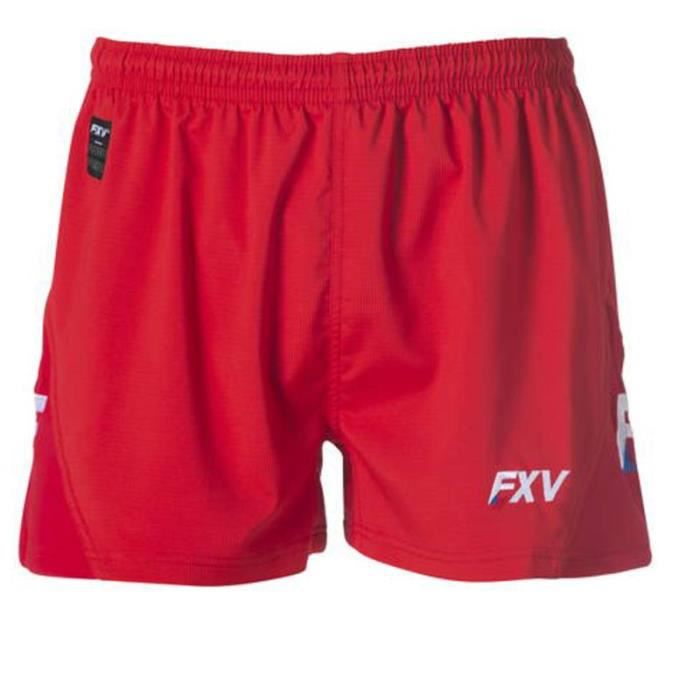 SHORT FORCE PLUS HOMME FORCE XV ROUGE