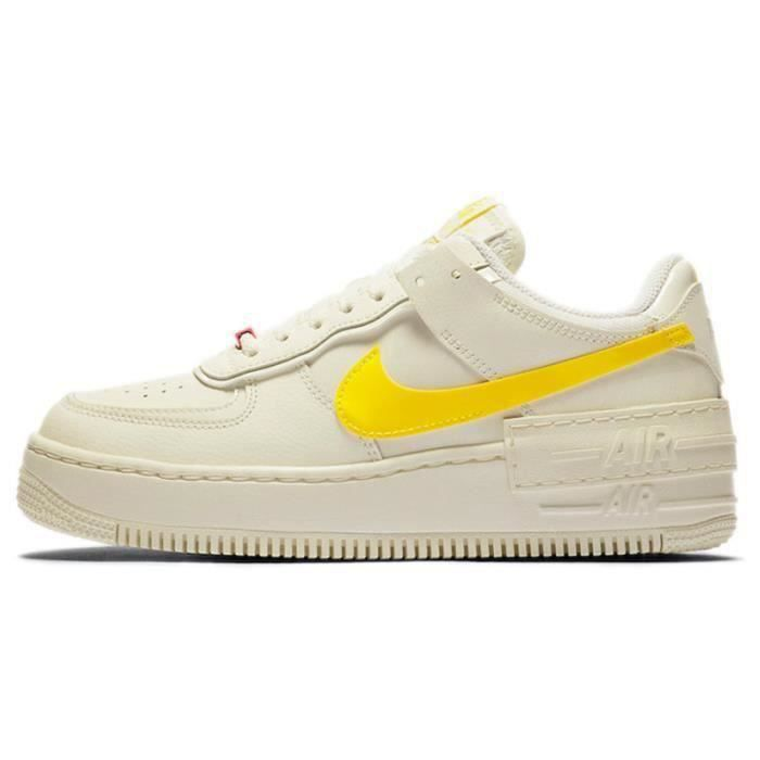 Basket Air Force 1 Shadow Air Force One AF 1 Low Chaussures de Running Femme CZ0375-1100