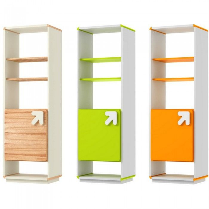 meuble de rangement design arrow couleur vert m achat vente petit meuble rangement meuble. Black Bedroom Furniture Sets. Home Design Ideas