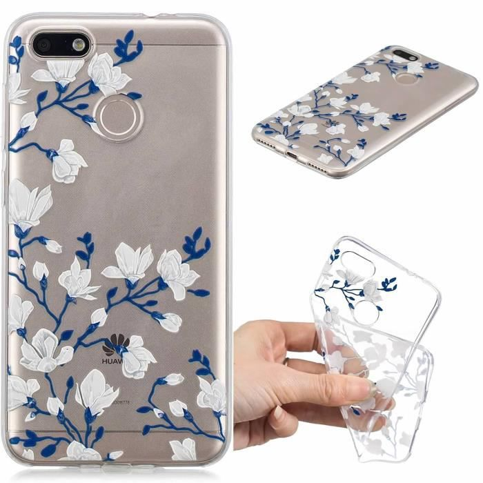 HOUSSE DE CHAISE coque Huawei Y6 Pro 2017 - P9 Lite Mini - Enjoy 7,