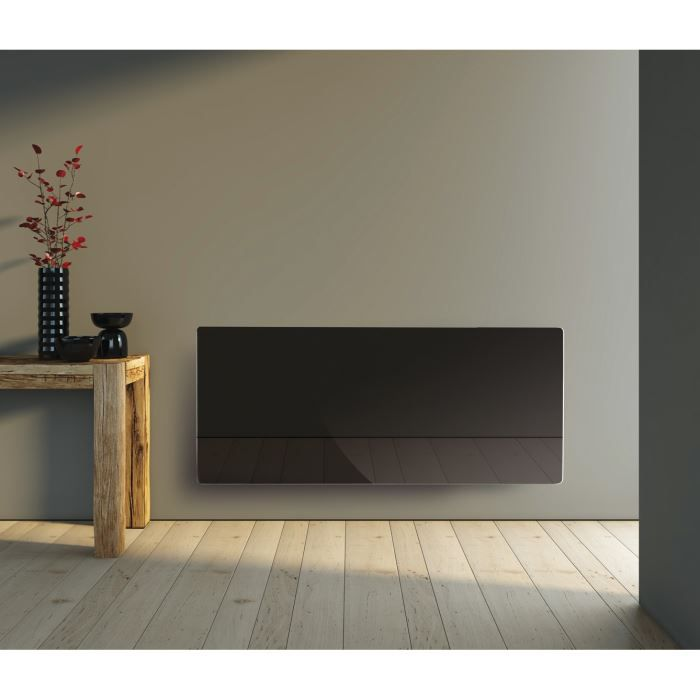 radiateur rayonnant verre 2000w. Black Bedroom Furniture Sets. Home Design Ideas