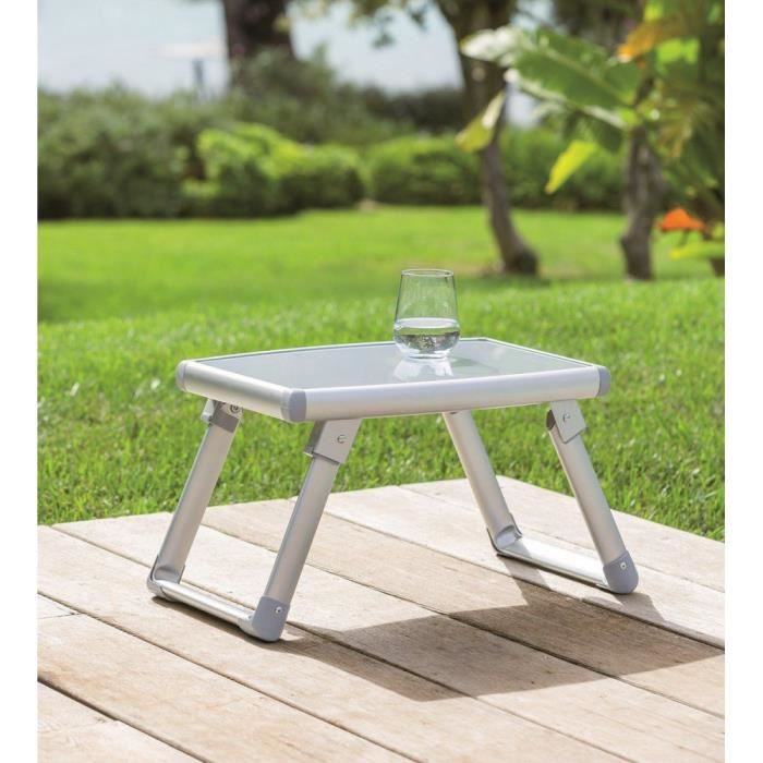 Table appoint pliante exterieur volta hesperide achat for Table exterieur pliante