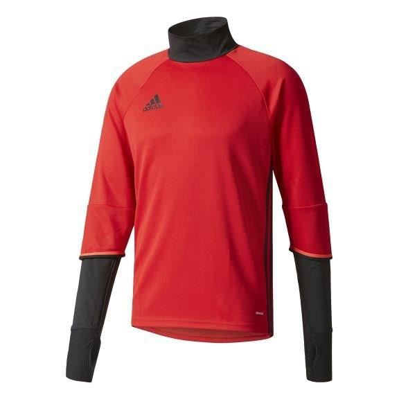 ADIDAS Maillot d'entrainement de Football Condivo 16 Rouge Noir