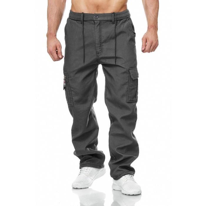 pantalon homme cargo