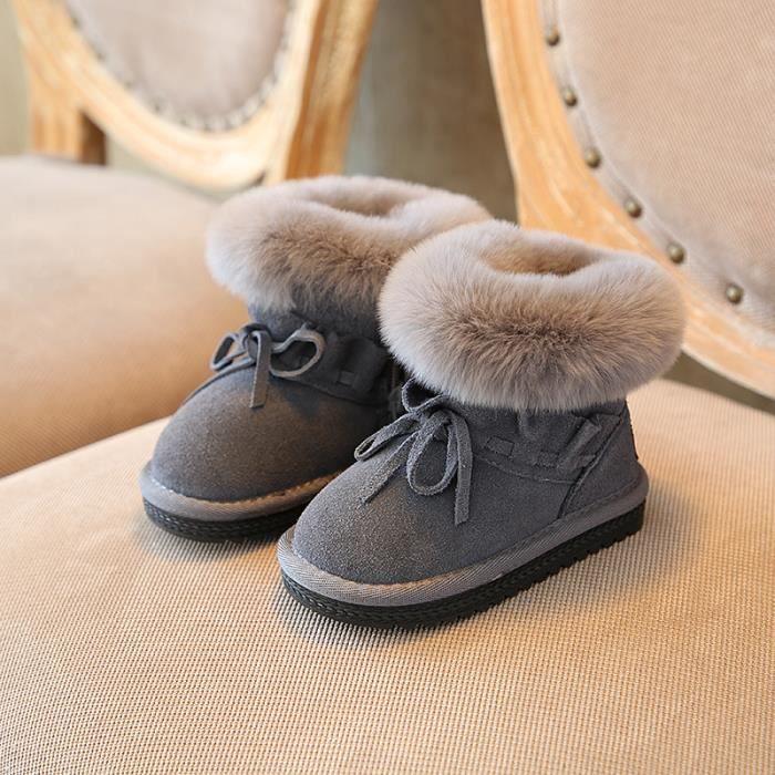 de filles Bébé Chaud Bottes neige Enfants Chaussures Garçon Bottes sQChtdxr