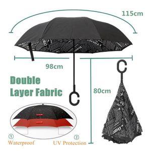 """23/"""" Mesdames Transparent Bordure Couleur dôme Walking Parapluie BROLLY"""