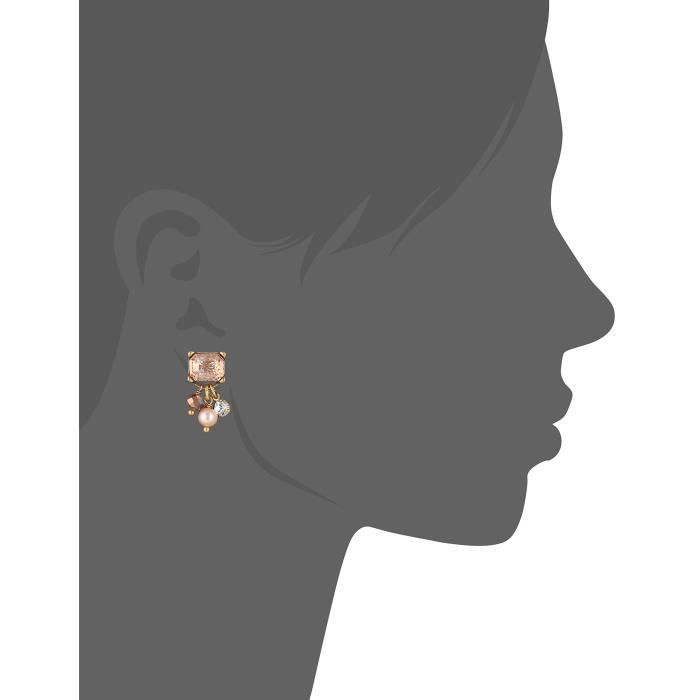 Badgley Mischka Blush Stone Dangle Earrings ZA832 0Ya4722