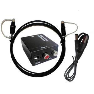 Câble coaxial Easyday DAC numérique SPDIF TosLink vers analogiqu