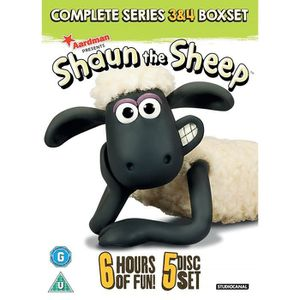 DVD FILM Shaun The Sheep: Complete Series 3 And 4 (5 Dvd) [
