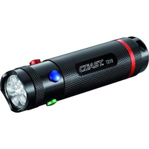 LAMPE FRONTALE MULTISPORT Lampe  Led Flashlight 4 couleurs TX10