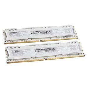 MÉMOIRE RAM Crucial Ballistix Sport LT Series weiß DDR4-2400,