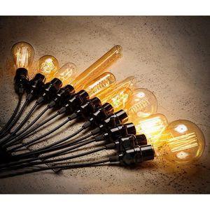 LUSTRE ET SUSPENSION iDeko® Lampe de Salon Art design antique unique in