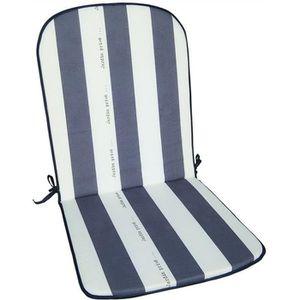 COUSSIN D'EXTÉRIEUR Coussin pour fauteuil haut dossier Cancale - gris