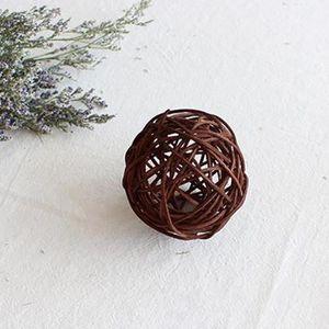 Mélange de boule de rotin décor de noël Brun 10cm   Achat / Vente