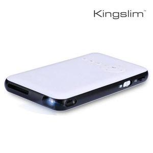 Vidéoprojecteur Mini Projecteur Portatif 3000LM Android DLP 1080p