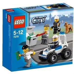 ASSEMBLAGE CONSTRUCTION LEGO® City 7279 Collection de figurines City Polic