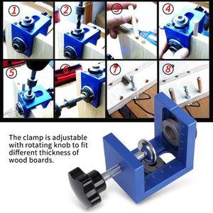 GUIDE DE COUPE Guide de perçage pour goujon en bois Outil de fore