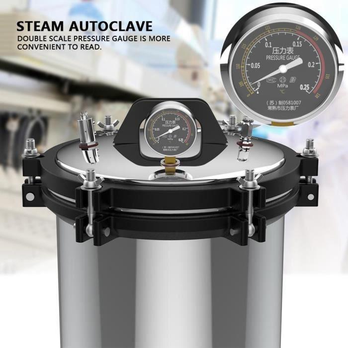 XFS-280A stérilisant à vapeur à pression en acier inoxydable 18l 220V-TIP
