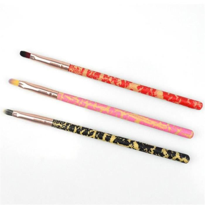 MOR 1 pièces Pro Super doux fibres artificielles maquillage des yeux cosmétiques pinceaux fard à paupières pinceau Eyeliner pinceau