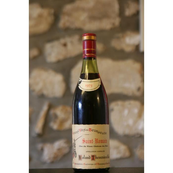 St Romain, rouge, Domaine Clos du Vieux Château des Ducs 1973 Simple