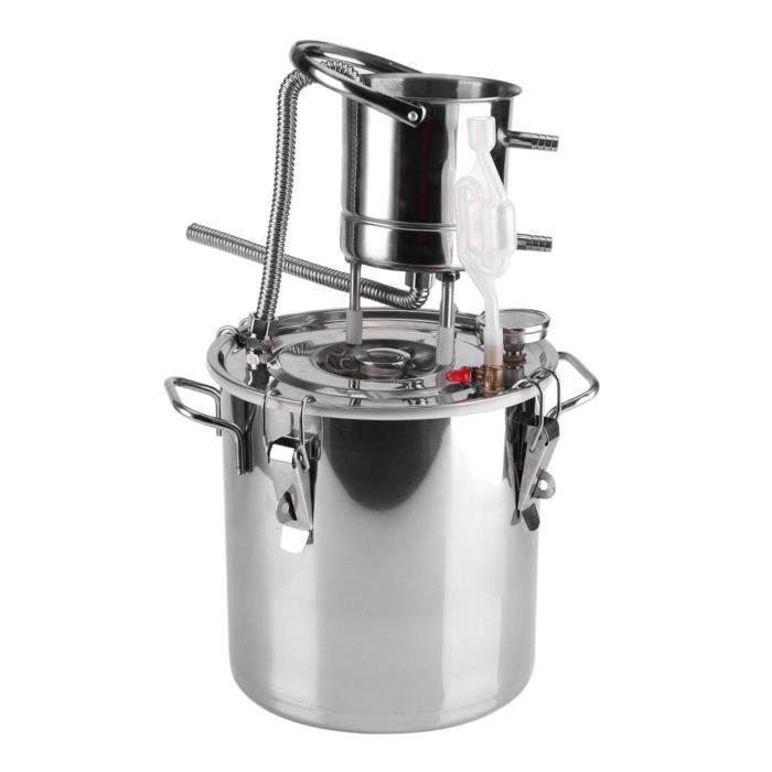 Sonew Kit d'infusion de vin Petit équipement de distillateur d'eau de kit de dispositif de fabrication de vin d'alcool de