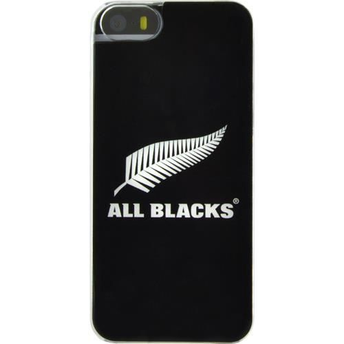 ALL BLACKS Coque semi-rigide All Blacks pour iPhone 5 / 5S - Noir