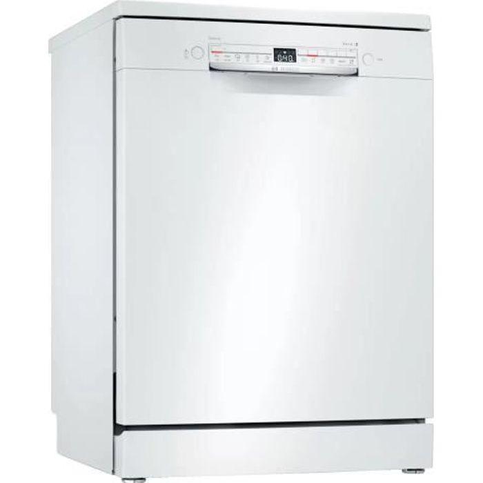Lave-vaisselle pose libre BOSCH - SMS2ITW39E - 60cm - 12 couverts - 48 dB - Blanc