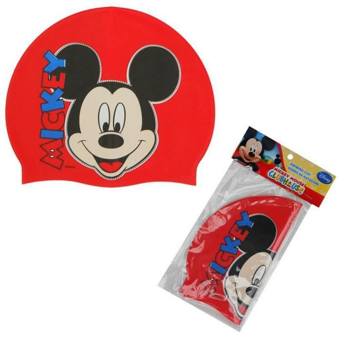 Bonnet de bain Mickey enfant Disney Silicone GUIZMAX