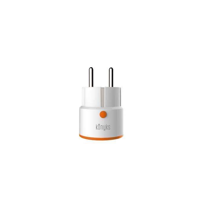 KONYKS Prise smart PRISKA+ Mini - Sans fil - Wi-Fi - 2.4 Ghz
