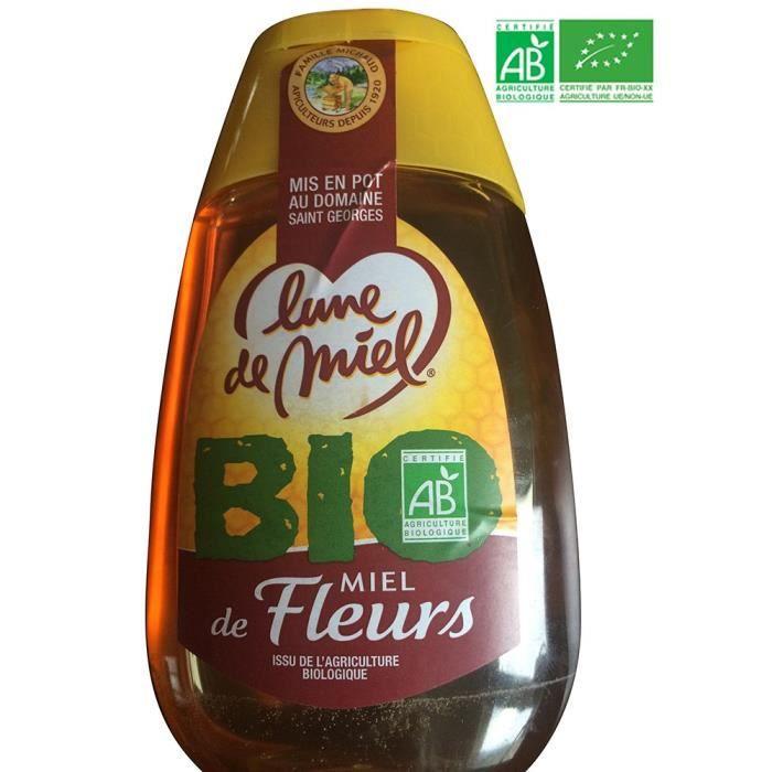 Miel liquide - Avec doseur - Bio - 500g