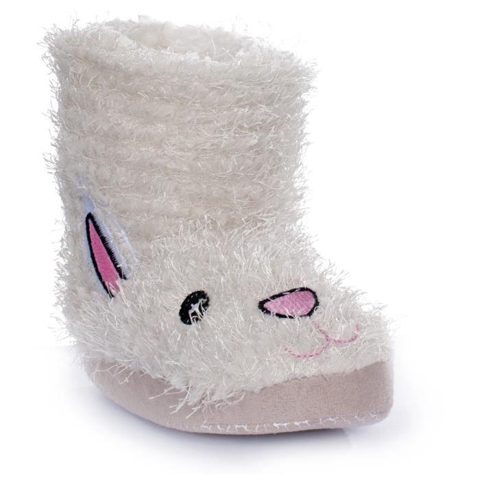Trespass Hoppity - Chaussons bottes à motif lapin - Fille