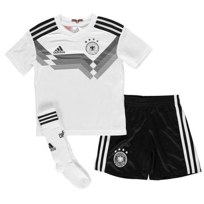 Nouveau Mini-Kit Officiel Enfant Adidas Allemagne Coupe du Monde 2018