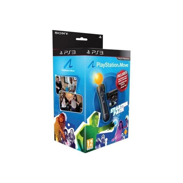 Sony Playstation Move Starter Pack Kit d'accessoires pour Sony PlayStation 3, Sony PlayStation 3 Slim