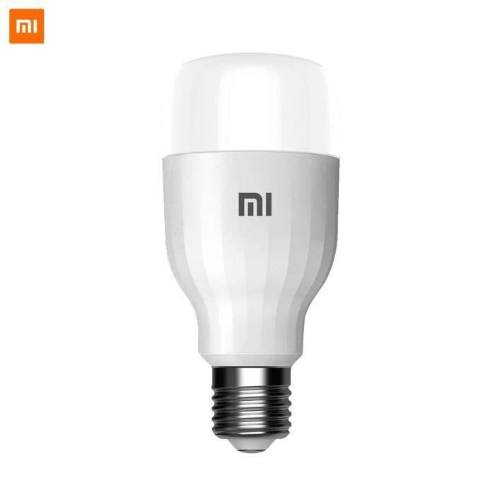 Xiaomi Mi Lite Ampoule E27 LED intelligente (blanc et couleur)