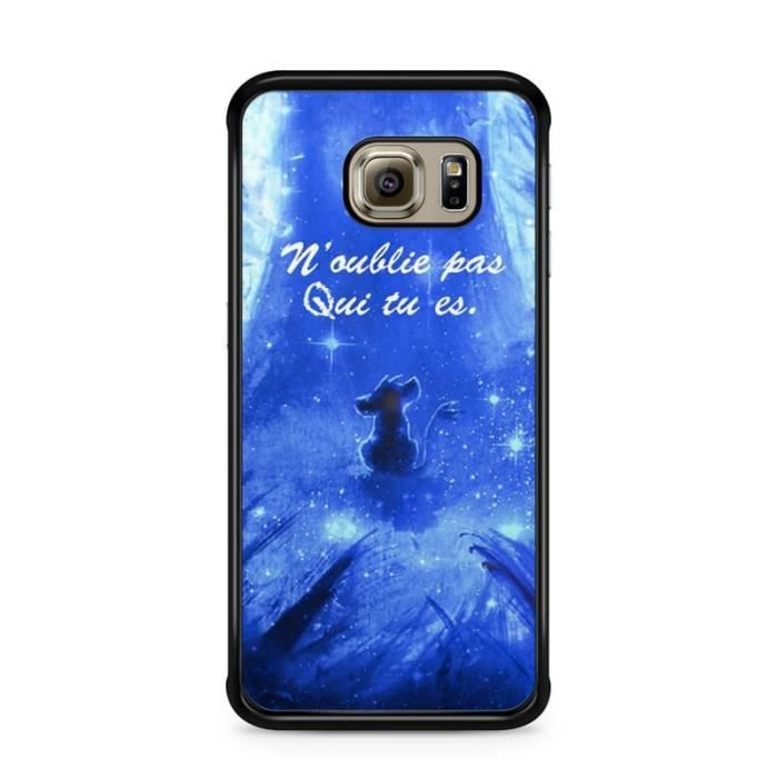 coque galaxy s6 silicone roi lion