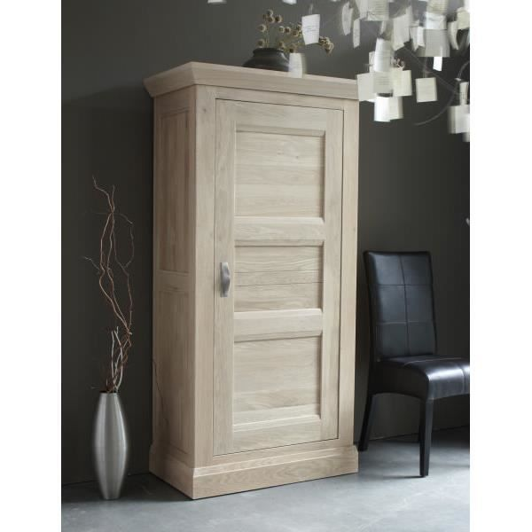 bonneti re ch ne massif stockholm blanchi meuble house achat vente bonnetiere bonneti re. Black Bedroom Furniture Sets. Home Design Ideas