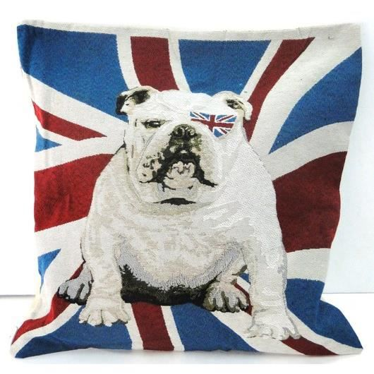 housse de coussin drapeau anglais union jack achat. Black Bedroom Furniture Sets. Home Design Ideas