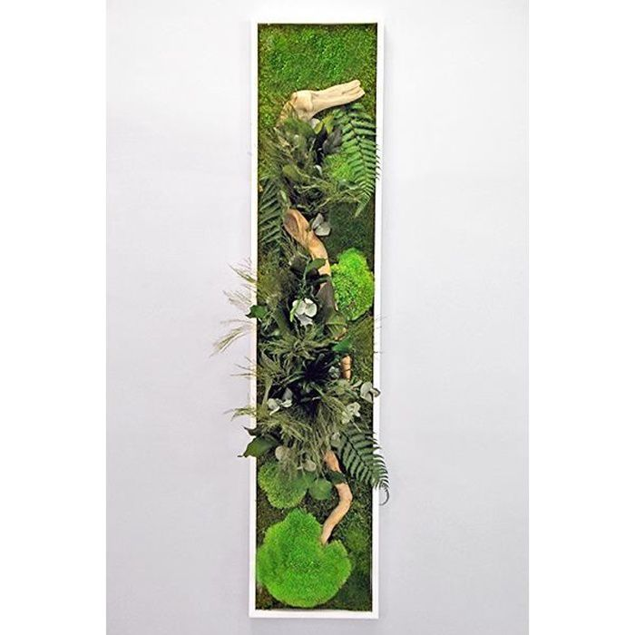 Tableau Végétal Stabilisé PANORAMIQUE XL 140 x 40