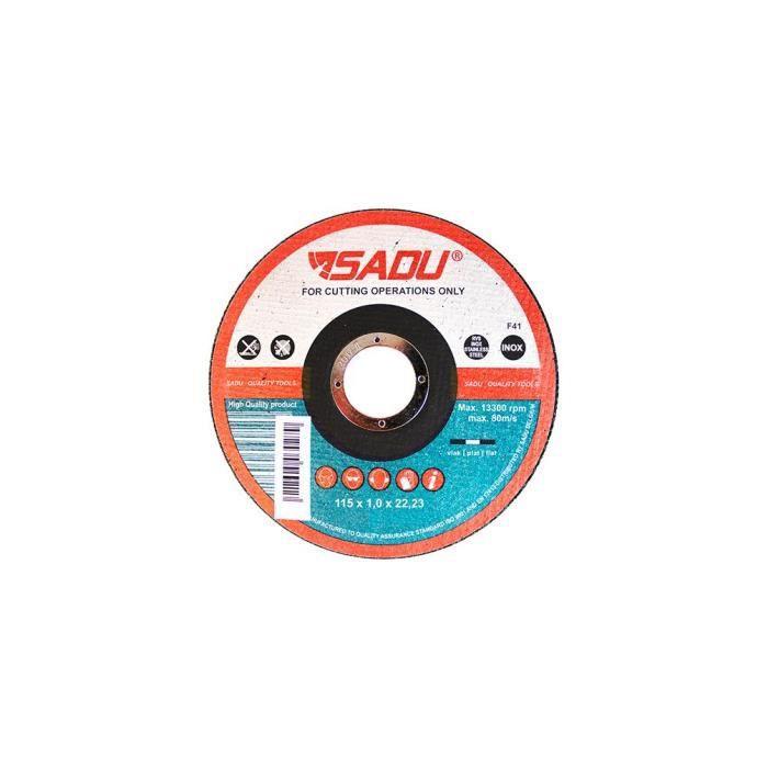 25 Disque 125mm a tronconner Metal Acier Inox Disqueuse Meuleuse d'angle Coupe