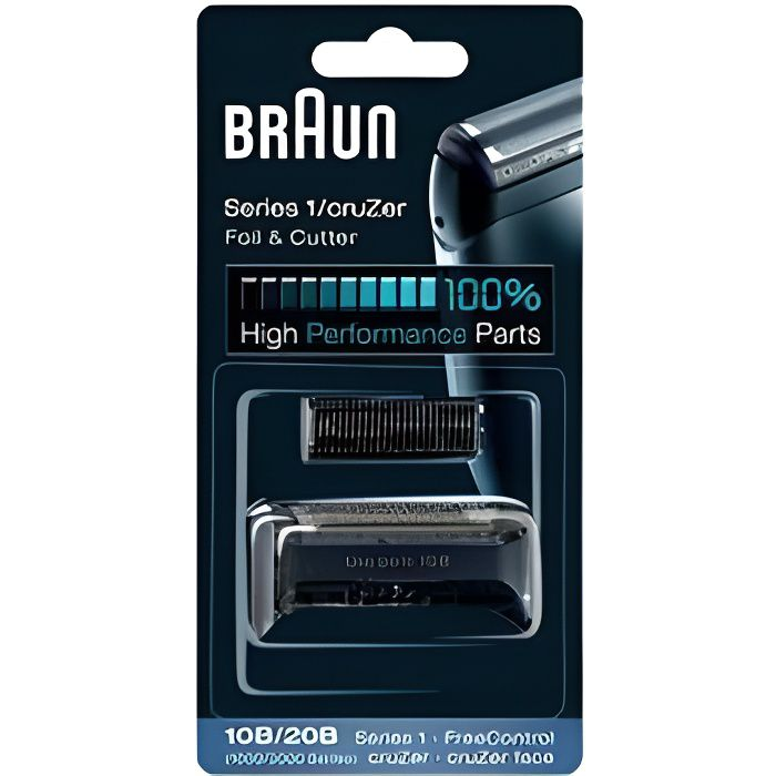 braun grille rasoirs s rie 1000 freecontrol 10b achat. Black Bedroom Furniture Sets. Home Design Ideas
