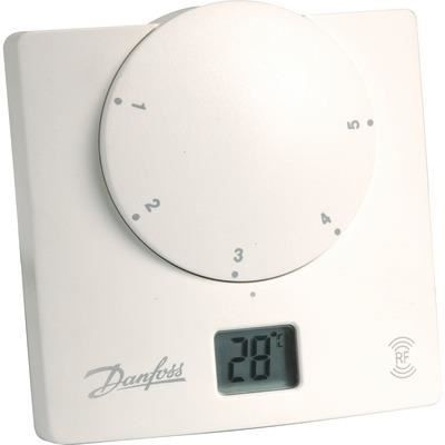 thermostat ret b rf danfoss sans fil pour chaud achat. Black Bedroom Furniture Sets. Home Design Ideas