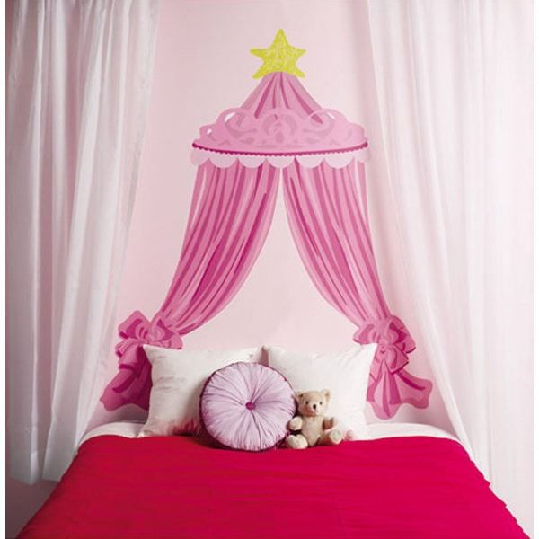 grand sticker mural t te de lit disney princesse achat vente stickers cdiscount. Black Bedroom Furniture Sets. Home Design Ideas