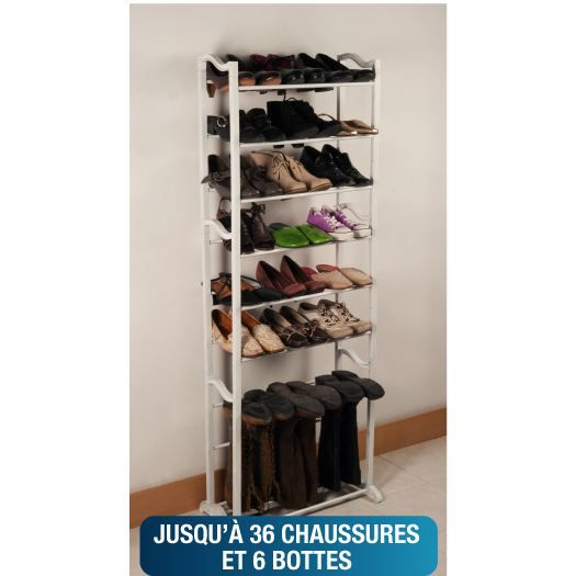 meuble chaussures etageres. Black Bedroom Furniture Sets. Home Design Ideas