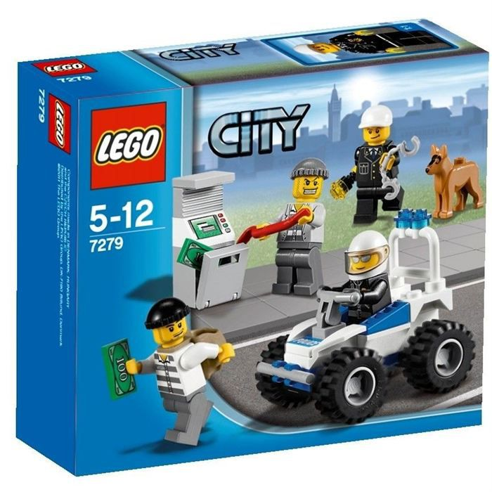 Lego city 7279 collection de figurines city police achat vente assemblage construction - Camion lego city police ...