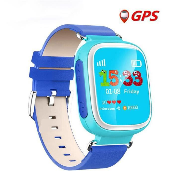 montre connect e android enfant montre smartwatch bluetooth gps sos t lphone montre intelligente. Black Bedroom Furniture Sets. Home Design Ideas