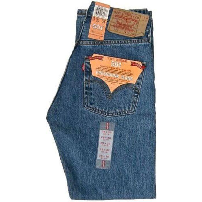 Homme CROSSHATCH Denim Jeans Slim Coupe Droite Coton Pantalon Pantalon 30-38