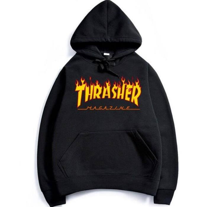 thrasher sweat achat vente thrasher sweat pas cher cdiscount. Black Bedroom Furniture Sets. Home Design Ideas